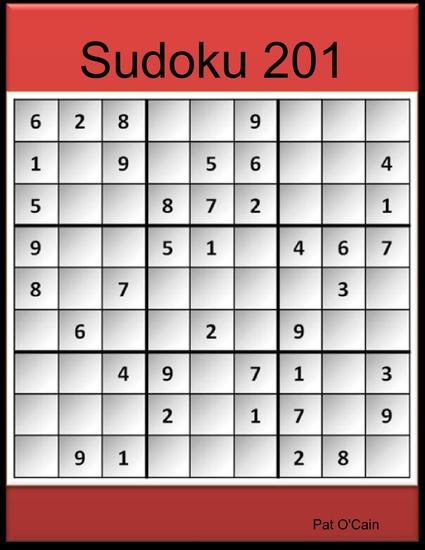 Sudoku 201 - cover