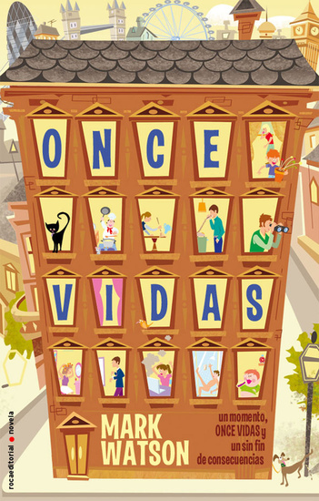 Once vidas - cover