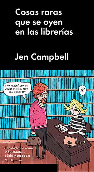 Cosas raras que se oyen en las librerías - cover