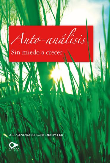 Auto-análisis Sin miedo a crecer - cover