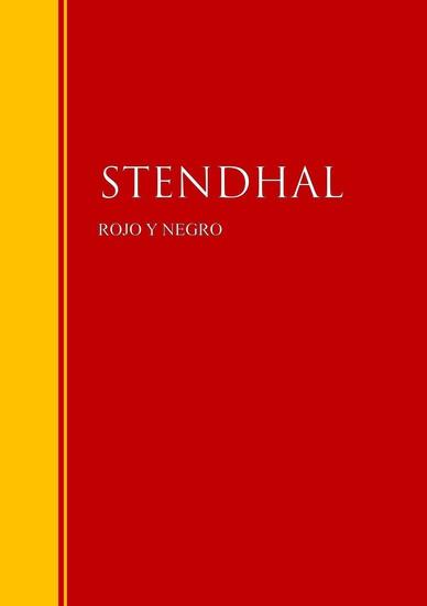 Rojo y Negro - Biblioteca de Grandes Escritores - cover