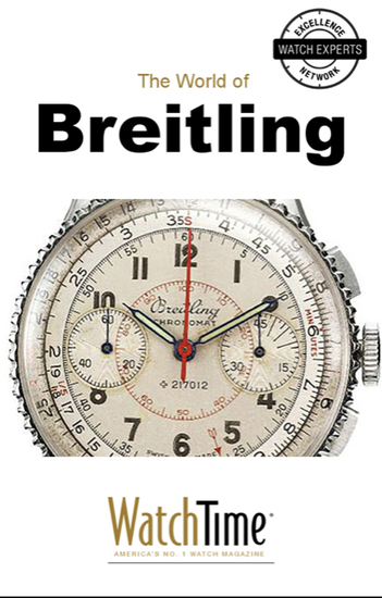 5 Milestone Breitling Watches from 1915 to Today - Guidebook for luxury watches - cover