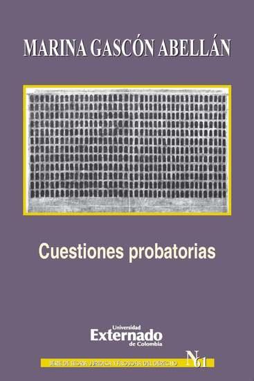 Cuestiones probatorias - cover