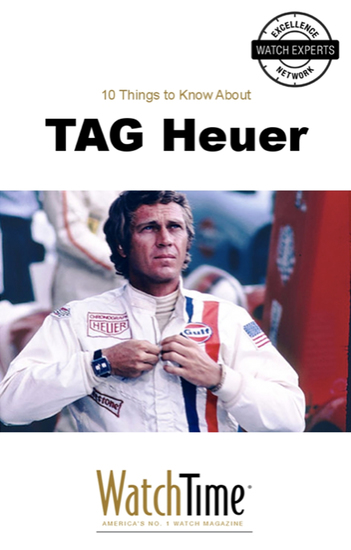 10 Things to Know About TAG Heuer - cover