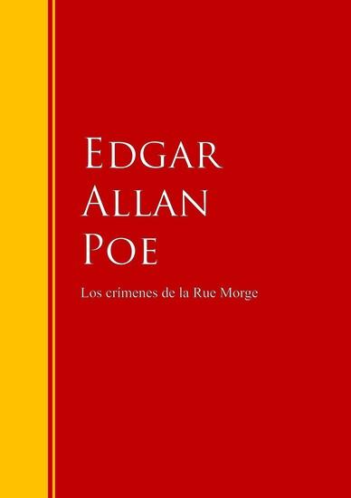 Los crímenes de la calle Morgue - cover