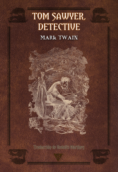 Tom Sawyer detective - cover