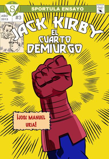 Jack Kirby El cuarto demiurgo - cover