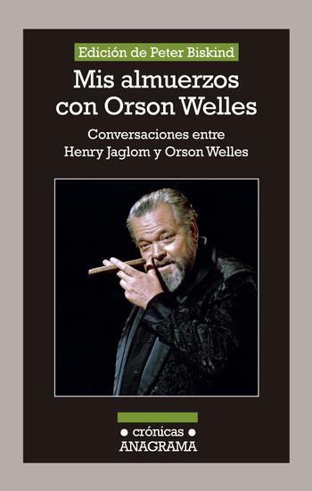 Mis almuerzos con Orson Welles - cover