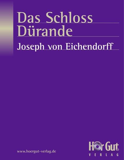 Das Schloss Dürande - cover