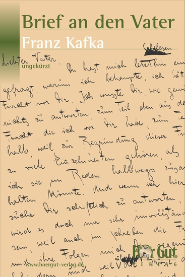 Brief an den Vater - Roman - cover