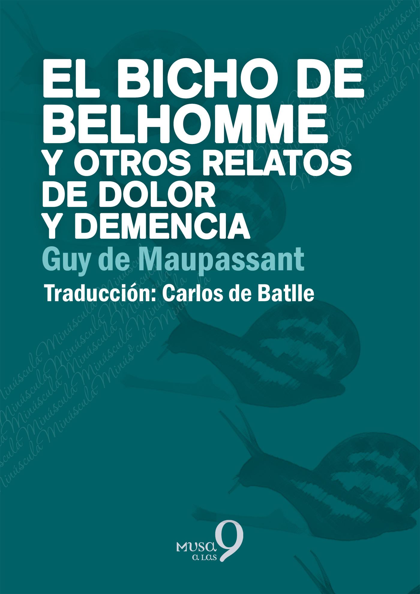 El bicho de Belhomme - cover