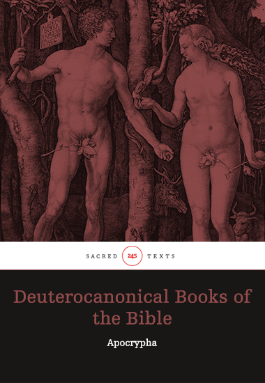 Deuterocanonical Books of the Bible - Apocrypha - cover