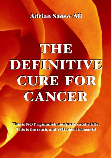 The Definitive Cure for Cancer - cover
