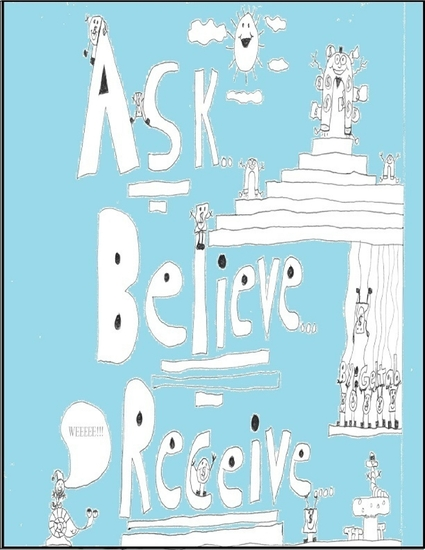 Ask Believe Receive - cover