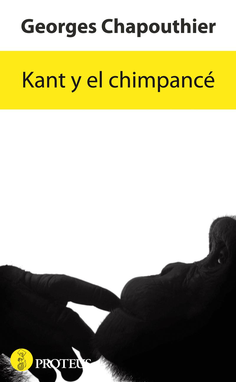 Kant y el chimpancé - cover