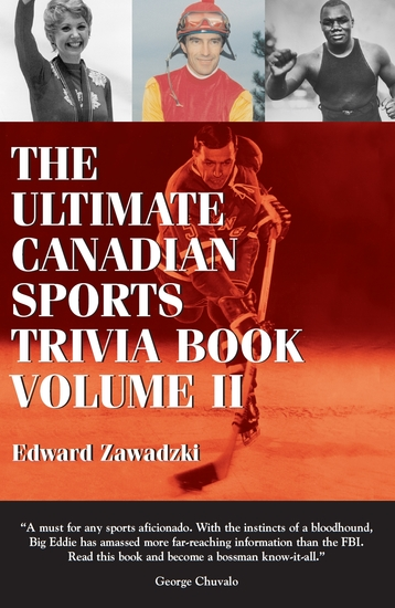 The Ultimate Canadian Sports Trivia Book - Volume 2 - cover