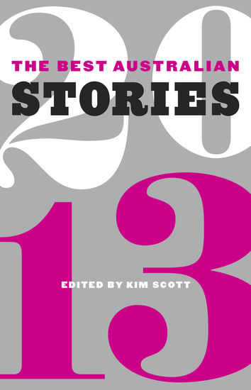 The Best Australian Stories 2013 - cover
