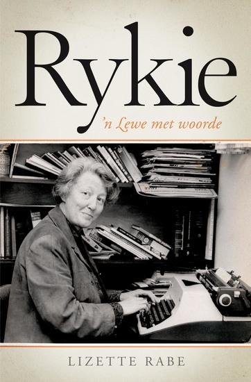 Rykie: 'n lewe met woorde - cover