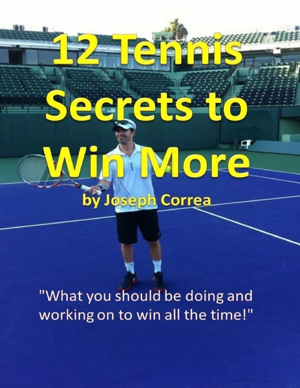 12 Tennis Secrets to Win More - cover