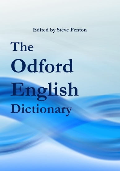 The Odford English Dictionary - cover