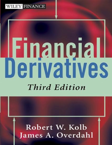Financial Derivatives - cover