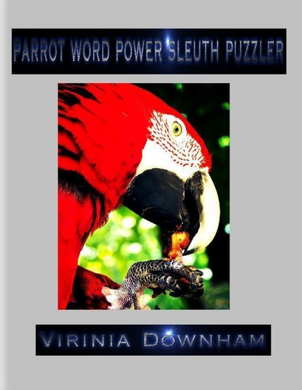 Parrot Word Power Sleuth Puzzler - cover
