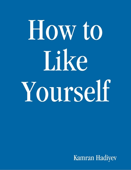 How to Like Yourself - cover
