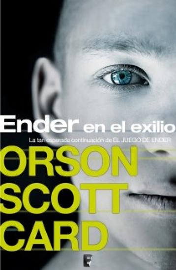 Ender en el exilio - cover