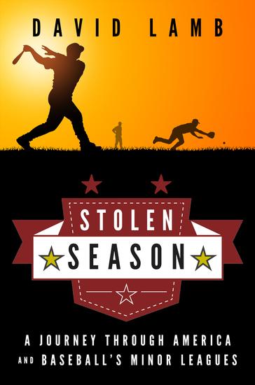Stolen Season - A Journey Through America and Baseball's Minor Leagues - cover