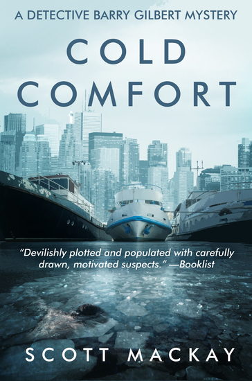 Cold Comfort - A Detective Barry Gilbert Mystery - cover