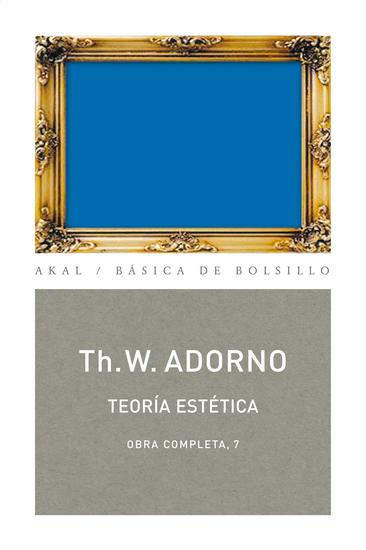 Teoría estética - Obra completa 7 - cover