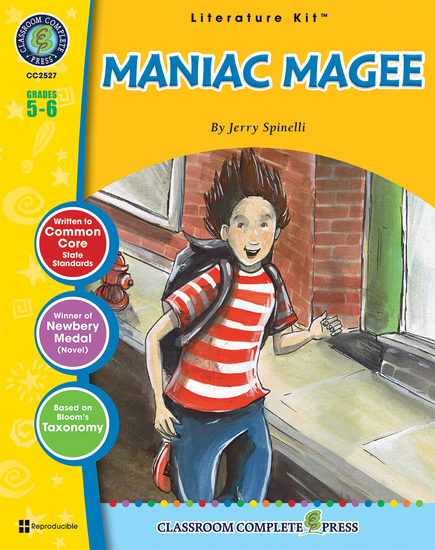 Maniac Magee (Jerry Spinelli) - cover