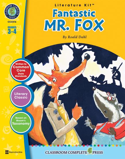 Fantastic Mr Fox (Roald Dahl) - cover