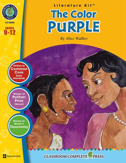 The Color Purple (Alice Walker) - cover