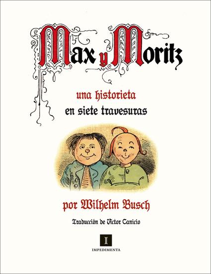 Max y Moritz - cover