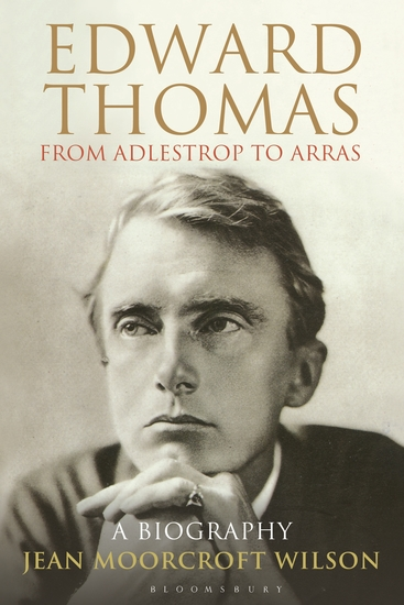 Edward Thomas: from Adlestrop to Arras - A Biography - cover