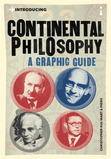 Introducing Continental Philosophy - A Graphic Guide - cover