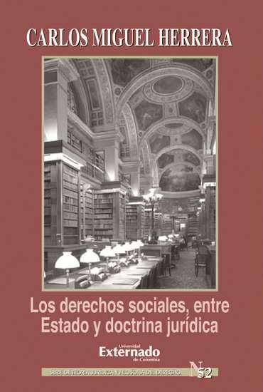 Los derechos sociales entre estado y doctrina jurídica - cover