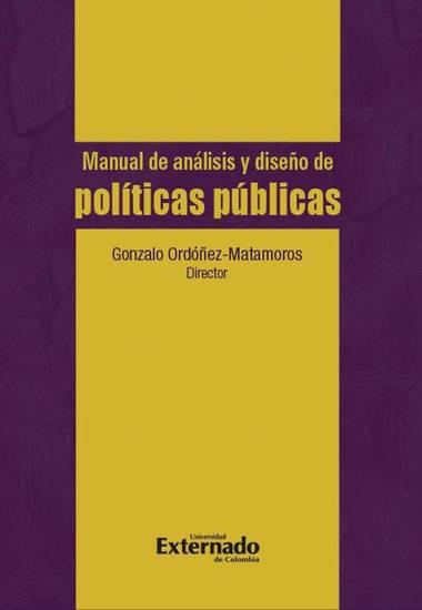 Manual de análisis y diseño de políticas públicas - cover