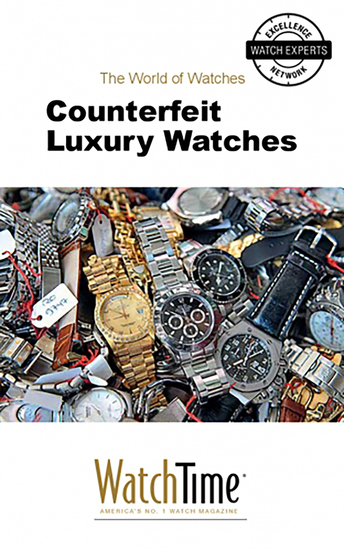 Counterfeit Luxury Watches - cover