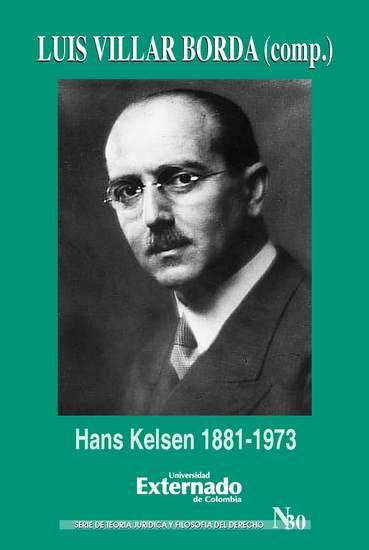 Hans Kelsen 1881-1973 - cover