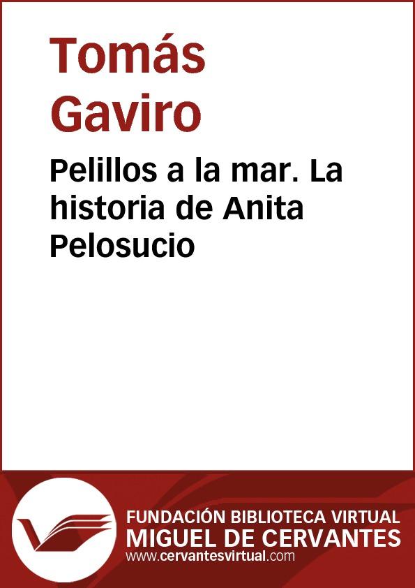 Pelillos a la mar - La historia de Anita Pelosucio - cover
