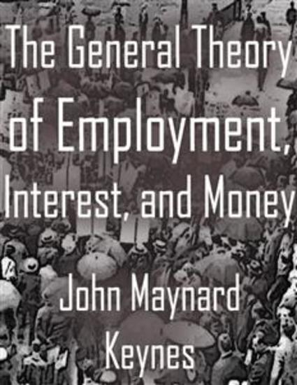 The General Theory of Employment Interest and Money - cover