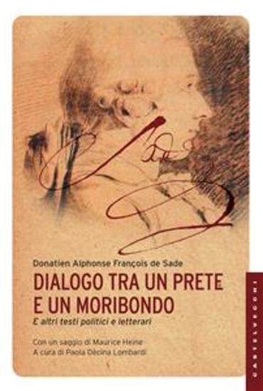 Dialogo tra un prete e un moribondo - e altri testi politici e letterari - cover