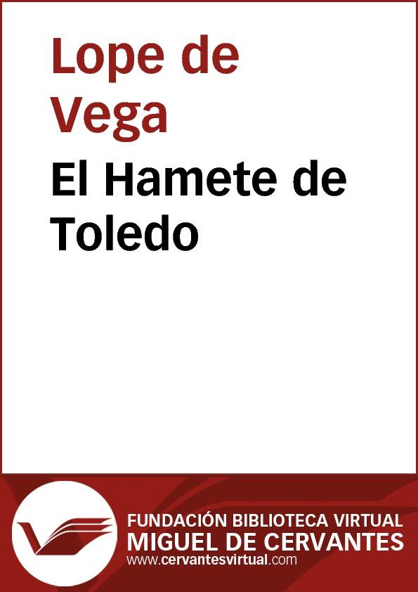 El Hamete de Toledo - cover