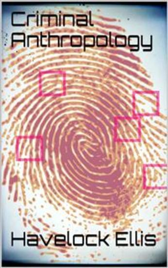 Criminal Anthropology - cover