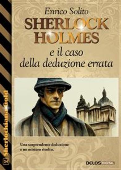 Sherlock Holmes e il caso della deduzione errata - cover
