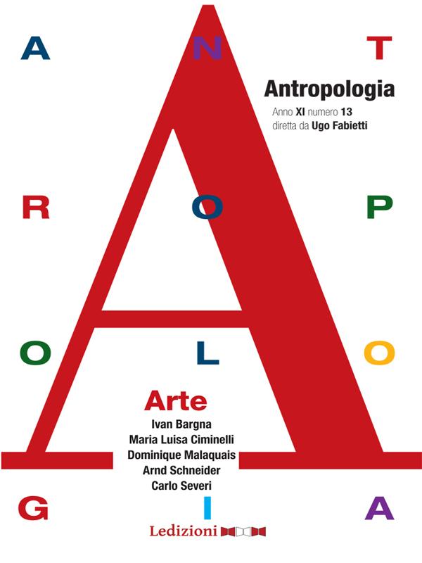 Annuario di antropologia, n 13 - Arte - cover