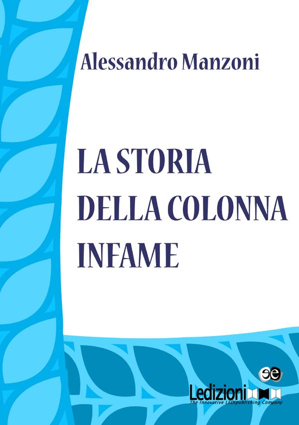 La storia della Colonna Infame - cover