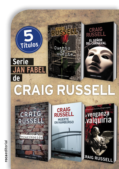 Serie Jan Fabel - cover
